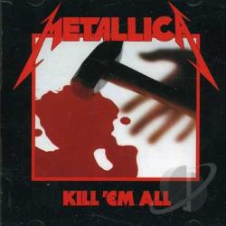 Metallica - Kill 'Em All CD Cover Art