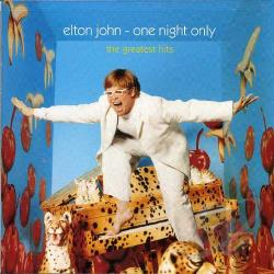 John, Elton - One Night Only CD Cover Art