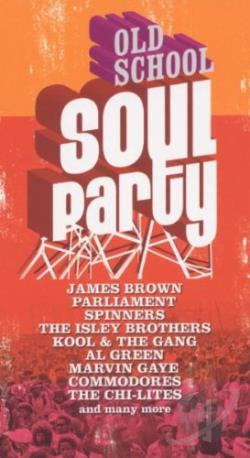 Old School Soul Party CD Cover Art