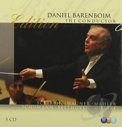 Barenboim, Daniel - Daniel Barenboim Edition: The Conductor CD Cover Art