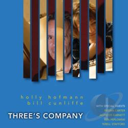 Cunliffe, Bill / Hofmann, Holly - Three's Company CD Cover Art