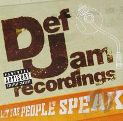 MTV Presents Def Jam: Let The People Speak CD Cover Art