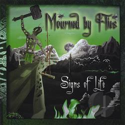 Mourned By Flies - Signs of Life CD Cover Art
