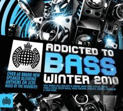 Ministry of Sound: Addicted to Bass Winter 2010 CD Cover Art