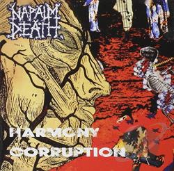 Napalm Death - Harmony Corruption CD Cover Art