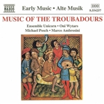 Ambrosini / Ensemble Unicorn / Posch / Wytars - Music of the Troubadours CD Cover Art