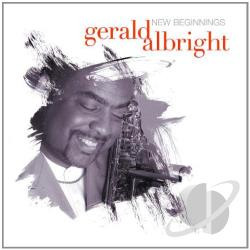 Albright, Gerald - New Beginnings CD Cover Art