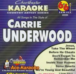 Underwood, Carrie - Karaoke: Carrie Underwood CD Cover Art