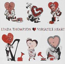 Thompson, Linda - Versatile Heart CD Cover Art