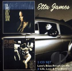 James, Etta - Love's Been Rough on Me/Life, Love & the Blues CD Cover Art
