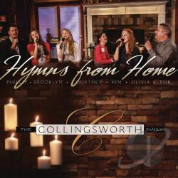 Collingsworth Family - Hymns from Home CD Cover Art