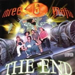 Three 6 Mafia - Da End CD Cover Art