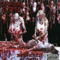 Cannibal Corpse - Butchered at Birth CD Cover Art
