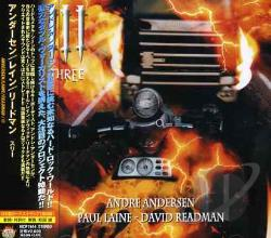 Andersen / Rain / Readman - Three[3] CD Cover Art
