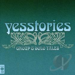 Yes - Yesstories: Group & Solo Tales CD Cover Art