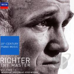 Richter, Sviatoslav - Richter the Master, Vol. 11: 20th Century Piano Music CD Cover Art