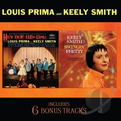 Prima, Louis - Hey Boy! Hey Girl!/Swingin' Pretty CD Cover Art