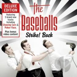 Baseballs - Strike! Back CD Cover Art