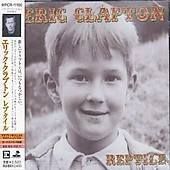 Clapton, Eric - Reptile CD Cover Art