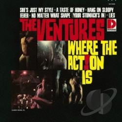 Ventures - Where the Action Is! CD Cover Art