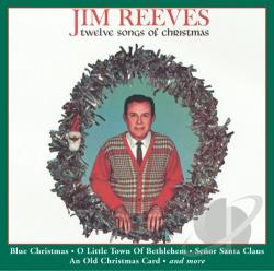 Reeves, Jim - Twelve Songs of Christmas CD Cover Art