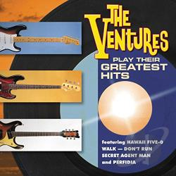 Ventures - Play Their Greatest Hits CD Cover Art