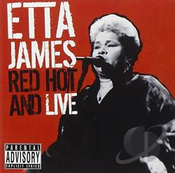 James, Etta - Etta, Red-Hot & Live CD Cover Art