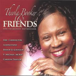 Booker, Theola - With the Greatest St. Matthew Choir CD Cover Art