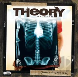 Theory Of A Deadman - Scars & Souvenirs CD Cover Art