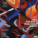 Baker / Bottorff / Hughes / Johnson / Morrison - Legacy: Violin Music of African-American Composers CD Cover Art