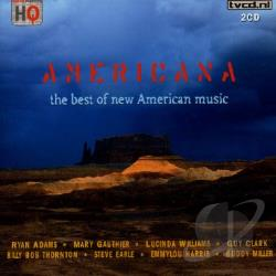 Americana: The Best Of New American Music CD Cover Art