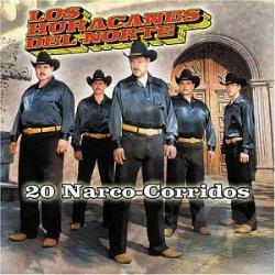 Los Huracanes Del Norte - 20 Narco-Corridos CD Cover Art