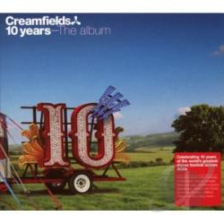 Creamfields 10 Years CD Cover Art