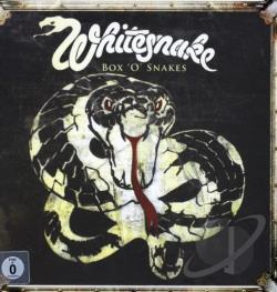 Whitesnake - Box 'O' Snakes: The Sunburst Years 1978-1982 LP Cover Art
