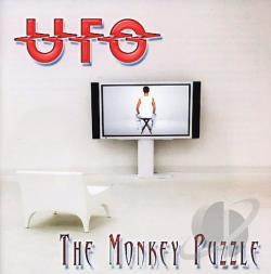 U.F.O. - Monkey Puzzle CD Cover Art