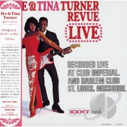 Turner, Ike & Tina - Live (Mini LP Sleeve) CD Cover Art