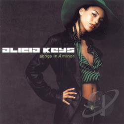 Keys, Alicia - Songs in A Minor CD Cover Art
