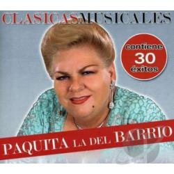 Paquita La Del Barrio - Coleccion De Oro CD Cover Art