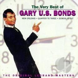 Bonds, Gary U.S. - Very Best of Gary U.S. Bonds: The Original Legrand Masters CD Cover Art