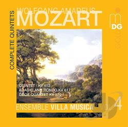 Ensemble Villa Musica / Mozart - Mozart: Complete Quintets, Vol. 4 CD Cover Art