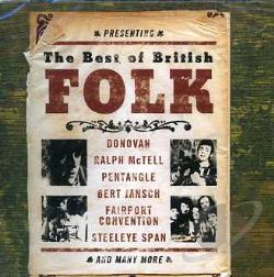 Best of British Folk CD Cover Art