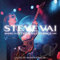 Vai, Steve - Where the Other Wild Things Are: Live in Minneapolis CD Cover Art