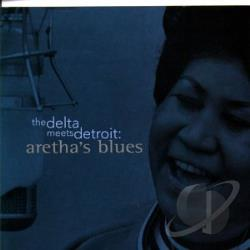 Franklin, Aretha - Delta Meets Detroit: Aretha's Blues CD Cover Art