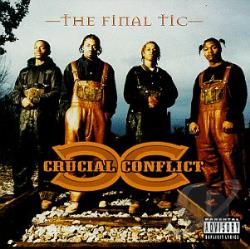 Crucial Conflict - Final Tic CD Cover Art