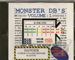 Monster Db's CD Cover Art