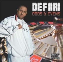 Defari - Odds & Evens CD Cover Art