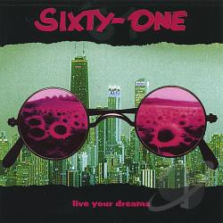 61 - Live Your Dreams CD Cover Art