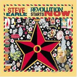 Earle, Steve - Revolution Starts Now CD Cover Art