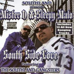 Mister D / Sleepy Malo - South Side Love CD Cover Art