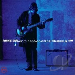 Earl, Ronnie & The Broadcasters - Colour of Love CD Cover Art